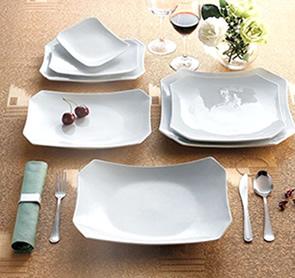 Clinton-Rectangular Platters